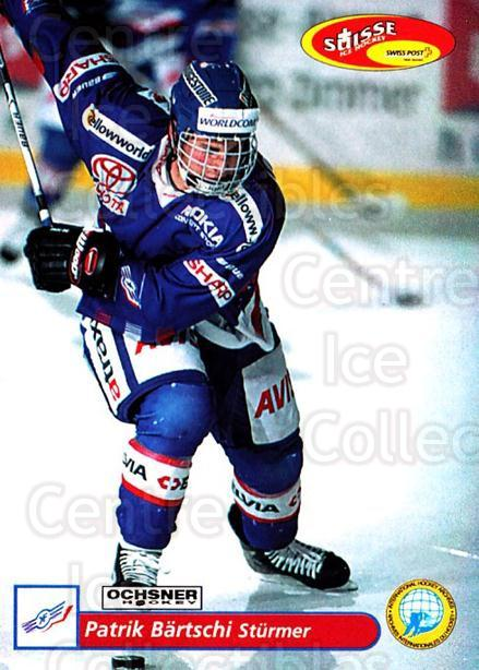 2001-02 Swiss Ice Hockey Cards #65 Patrik Bartschi<br/>2 In Stock - $2.00 each - <a href=https://centericecollectibles.foxycart.com/cart?name=2001-02%20Swiss%20Ice%20Hockey%20Cards%20%2365%20Patrik%20Bartschi...&price=$2.00&code=220610 class=foxycart> Buy it now! </a>