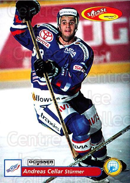 2001-02 Swiss Ice Hockey Cards #66 Andreas Cellar<br/>1 In Stock - $2.00 each - <a href=https://centericecollectibles.foxycart.com/cart?name=2001-02%20Swiss%20Ice%20Hockey%20Cards%20%2366%20Andreas%20Cellar...&quantity_max=1&price=$2.00&code=220611 class=foxycart> Buy it now! </a>