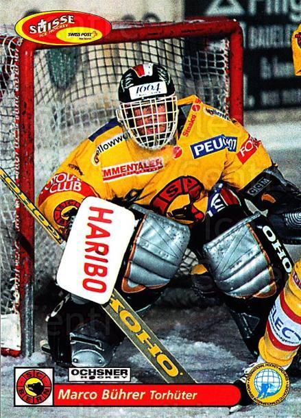 2001-02 Swiss Ice Hockey Cards #79 Marco Buhrer<br/>2 In Stock - $2.00 each - <a href=https://centericecollectibles.foxycart.com/cart?name=2001-02%20Swiss%20Ice%20Hockey%20Cards%20%2379%20Marco%20Buhrer...&quantity_max=2&price=$2.00&code=220624 class=foxycart> Buy it now! </a>