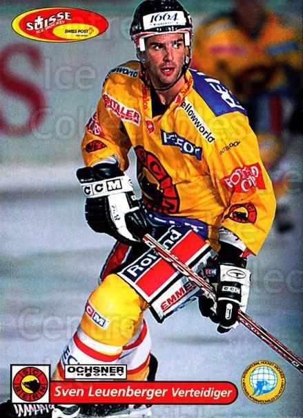2001-02 Swiss Ice Hockey Cards #83 Sven Leuenberger<br/>2 In Stock - $2.00 each - <a href=https://centericecollectibles.foxycart.com/cart?name=2001-02%20Swiss%20Ice%20Hockey%20Cards%20%2383%20Sven%20Leuenberge...&quantity_max=2&price=$2.00&code=220628 class=foxycart> Buy it now! </a>