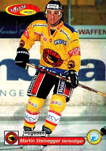 2001-02 Swiss Ice Hockey Cards #86 Martin Steinegger<br/>2 In Stock - $2.00 each - <a href=https://centericecollectibles.foxycart.com/cart?name=2001-02%20Swiss%20Ice%20Hockey%20Cards%20%2386%20Martin%20Steinegg...&quantity_max=2&price=$2.00&code=220631 class=foxycart> Buy it now! </a>