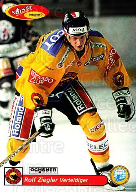 2001-02 Swiss Ice Hockey Cards #87 Rolf Ziegler<br/>2 In Stock - $2.00 each - <a href=https://centericecollectibles.foxycart.com/cart?name=2001-02%20Swiss%20Ice%20Hockey%20Cards%20%2387%20Rolf%20Ziegler...&quantity_max=2&price=$2.00&code=220632 class=foxycart> Buy it now! </a>