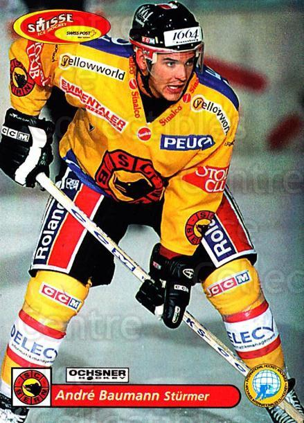 2001-02 Swiss Ice Hockey Cards #89 Andre Baumann<br/>2 In Stock - $2.00 each - <a href=https://centericecollectibles.foxycart.com/cart?name=2001-02%20Swiss%20Ice%20Hockey%20Cards%20%2389%20Andre%20Baumann...&quantity_max=2&price=$2.00&code=220634 class=foxycart> Buy it now! </a>