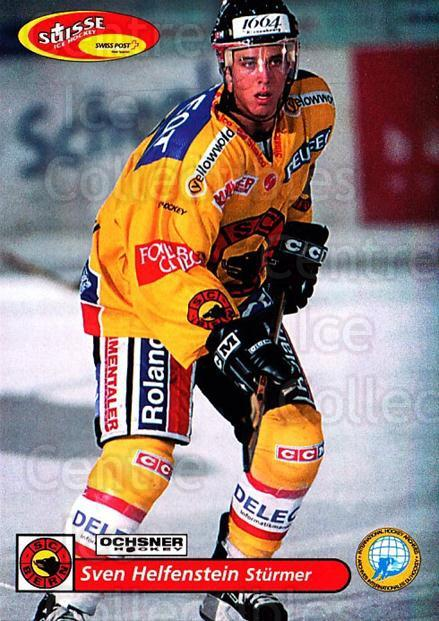 2001-02 Swiss Ice Hockey Cards #91 Sven Helfenstein<br/>2 In Stock - $2.00 each - <a href=https://centericecollectibles.foxycart.com/cart?name=2001-02%20Swiss%20Ice%20Hockey%20Cards%20%2391%20Sven%20Helfenstei...&quantity_max=2&price=$2.00&code=220636 class=foxycart> Buy it now! </a>