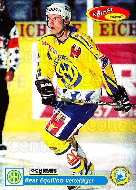 2001-02 Swiss Ice Hockey Cards #105 Beat Equilino<br/>2 In Stock - $2.00 each - <a href=https://centericecollectibles.foxycart.com/cart?name=2001-02%20Swiss%20Ice%20Hockey%20Cards%20%23105%20Beat%20Equilino...&quantity_max=2&price=$2.00&code=220650 class=foxycart> Buy it now! </a>