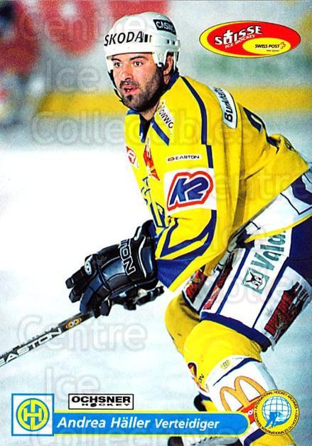 2001-02 Swiss Ice Hockey Cards #108 Andrea Haller<br/>2 In Stock - $2.00 each - <a href=https://centericecollectibles.foxycart.com/cart?name=2001-02%20Swiss%20Ice%20Hockey%20Cards%20%23108%20Andrea%20Haller...&quantity_max=2&price=$2.00&code=220653 class=foxycart> Buy it now! </a>