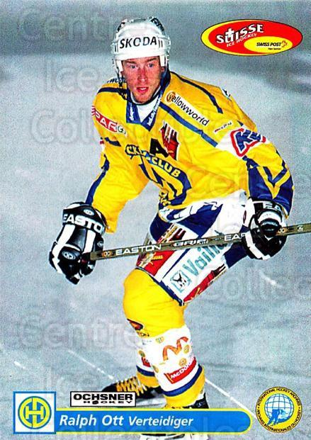 2001-02 Swiss Ice Hockey Cards #110 Ralph Ott<br/>2 In Stock - $2.00 each - <a href=https://centericecollectibles.foxycart.com/cart?name=2001-02%20Swiss%20Ice%20Hockey%20Cards%20%23110%20Ralph%20Ott...&quantity_max=2&price=$2.00&code=220655 class=foxycart> Buy it now! </a>