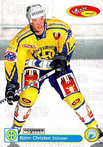 2001-02 Swiss Ice Hockey Cards #116 Bjorn Christen<br/>2 In Stock - $2.00 each - <a href=https://centericecollectibles.foxycart.com/cart?name=2001-02%20Swiss%20Ice%20Hockey%20Cards%20%23116%20Bjorn%20Christen...&quantity_max=2&price=$2.00&code=220661 class=foxycart> Buy it now! </a>