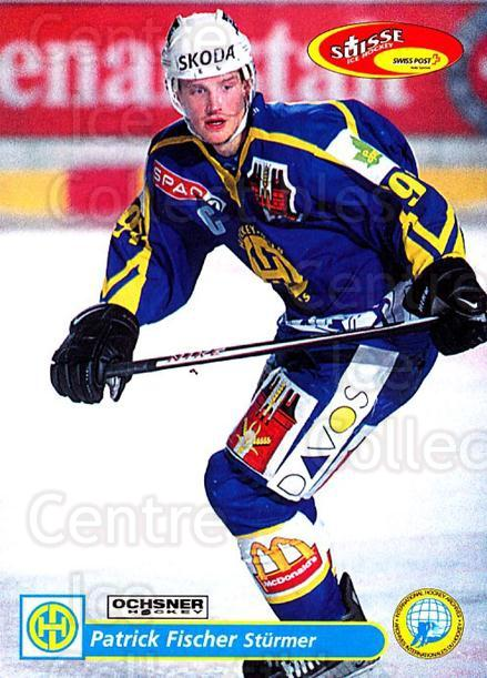 2001-02 Swiss Ice Hockey Cards #117 Patrick Fischer<br/>1 In Stock - $2.00 each - <a href=https://centericecollectibles.foxycart.com/cart?name=2001-02%20Swiss%20Ice%20Hockey%20Cards%20%23117%20Patrick%20Fischer...&quantity_max=1&price=$2.00&code=220662 class=foxycart> Buy it now! </a>