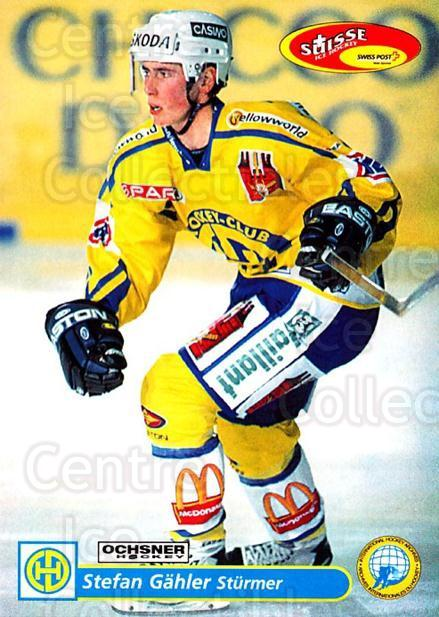2001-02 Swiss Ice Hockey Cards #119 Stefan Gahler<br/>2 In Stock - $2.00 each - <a href=https://centericecollectibles.foxycart.com/cart?name=2001-02%20Swiss%20Ice%20Hockey%20Cards%20%23119%20Stefan%20Gahler...&quantity_max=2&price=$2.00&code=220664 class=foxycart> Buy it now! </a>
