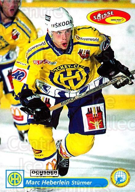 2001-02 Swiss Ice Hockey Cards #120 Marc Heberlein<br/>2 In Stock - $2.00 each - <a href=https://centericecollectibles.foxycart.com/cart?name=2001-02%20Swiss%20Ice%20Hockey%20Cards%20%23120%20Marc%20Heberlein...&quantity_max=2&price=$2.00&code=220665 class=foxycart> Buy it now! </a>