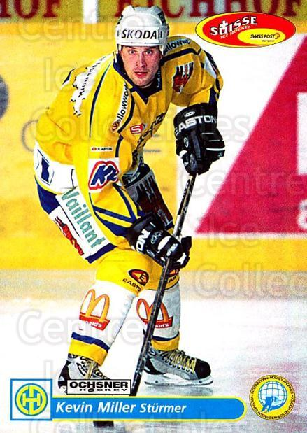 2001-02 Swiss Ice Hockey Cards #122 Kevin Miller<br/>1 In Stock - $2.00 each - <a href=https://centericecollectibles.foxycart.com/cart?name=2001-02%20Swiss%20Ice%20Hockey%20Cards%20%23122%20Kevin%20Miller...&quantity_max=1&price=$2.00&code=220667 class=foxycart> Buy it now! </a>