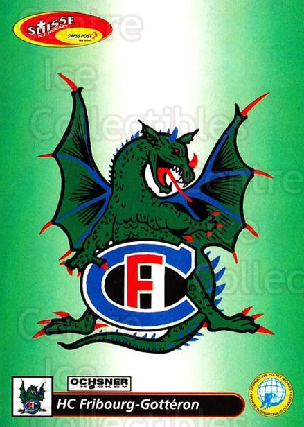 2001-02 Swiss Ice Hockey Cards #125 Fribourg<br/>2 In Stock - $2.00 each - <a href=https://centericecollectibles.foxycart.com/cart?name=2001-02%20Swiss%20Ice%20Hockey%20Cards%20%23125%20Fribourg...&quantity_max=2&price=$2.00&code=220670 class=foxycart> Buy it now! </a>