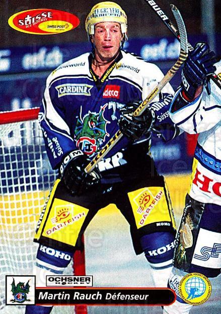 2001-02 Swiss Ice Hockey Cards #134 Martin Rauch<br/>2 In Stock - $2.00 each - <a href=https://centericecollectibles.foxycart.com/cart?name=2001-02%20Swiss%20Ice%20Hockey%20Cards%20%23134%20Martin%20Rauch...&quantity_max=2&price=$2.00&code=220679 class=foxycart> Buy it now! </a>