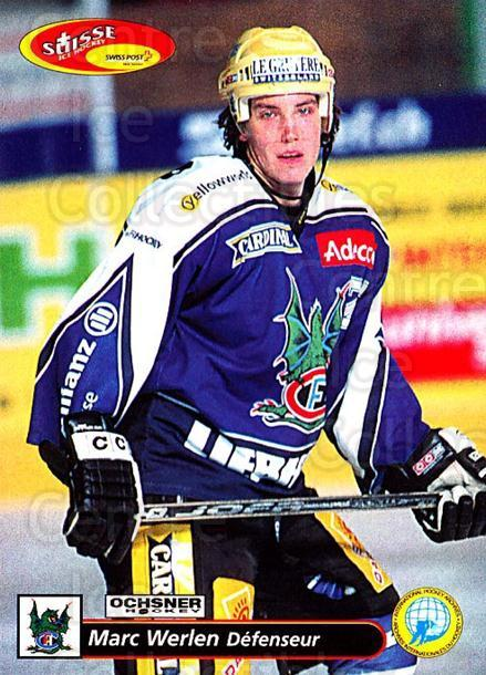 2001-02 Swiss Ice Hockey Cards #135 Marc Werlen<br/>3 In Stock - $2.00 each - <a href=https://centericecollectibles.foxycart.com/cart?name=2001-02%20Swiss%20Ice%20Hockey%20Cards%20%23135%20Marc%20Werlen...&quantity_max=3&price=$2.00&code=220680 class=foxycart> Buy it now! </a>