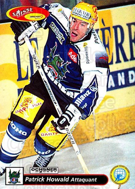 2001-02 Swiss Ice Hockey Cards #139 Patrick Howald<br/>2 In Stock - $2.00 each - <a href=https://centericecollectibles.foxycart.com/cart?name=2001-02%20Swiss%20Ice%20Hockey%20Cards%20%23139%20Patrick%20Howald...&quantity_max=2&price=$2.00&code=220684 class=foxycart> Buy it now! </a>