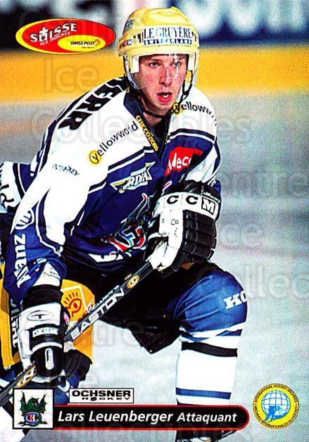 2001-02 Swiss Ice Hockey Cards #140 Lars Leuenberger<br/>2 In Stock - $2.00 each - <a href=https://centericecollectibles.foxycart.com/cart?name=2001-02%20Swiss%20Ice%20Hockey%20Cards%20%23140%20Lars%20Leuenberge...&quantity_max=2&price=$2.00&code=220685 class=foxycart> Buy it now! </a>