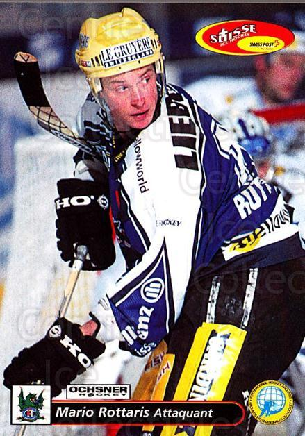 2001-02 Swiss Ice Hockey Cards #146 Mario Rottaris<br/>2 In Stock - $2.00 each - <a href=https://centericecollectibles.foxycart.com/cart?name=2001-02%20Swiss%20Ice%20Hockey%20Cards%20%23146%20Mario%20Rottaris...&quantity_max=2&price=$2.00&code=220691 class=foxycart> Buy it now! </a>