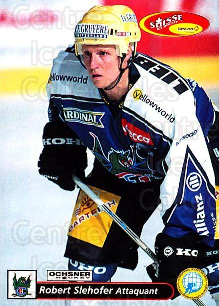 2001-02 Swiss Ice Hockey Cards #148 Robert Slehofer<br/>2 In Stock - $2.00 each - <a href=https://centericecollectibles.foxycart.com/cart?name=2001-02%20Swiss%20Ice%20Hockey%20Cards%20%23148%20Robert%20Slehofer...&quantity_max=2&price=$2.00&code=220693 class=foxycart> Buy it now! </a>