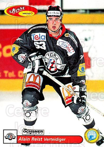 2001-02 Swiss Ice Hockey Cards #158 Alain Reist<br/>2 In Stock - $2.00 each - <a href=https://centericecollectibles.foxycart.com/cart?name=2001-02%20Swiss%20Ice%20Hockey%20Cards%20%23158%20Alain%20Reist...&quantity_max=2&price=$2.00&code=220703 class=foxycart> Buy it now! </a>