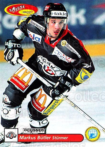 2001-02 Swiss Ice Hockey Cards #161 Markus Butler<br/>2 In Stock - $2.00 each - <a href=https://centericecollectibles.foxycart.com/cart?name=2001-02%20Swiss%20Ice%20Hockey%20Cards%20%23161%20Markus%20Butler...&quantity_max=2&price=$2.00&code=220706 class=foxycart> Buy it now! </a>