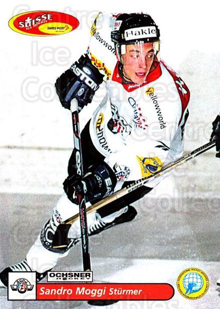 2001-02 Swiss Ice Hockey Cards #168 Sandro Moggi<br/>2 In Stock - $2.00 each - <a href=https://centericecollectibles.foxycart.com/cart?name=2001-02%20Swiss%20Ice%20Hockey%20Cards%20%23168%20Sandro%20Moggi...&quantity_max=2&price=$2.00&code=220713 class=foxycart> Buy it now! </a>
