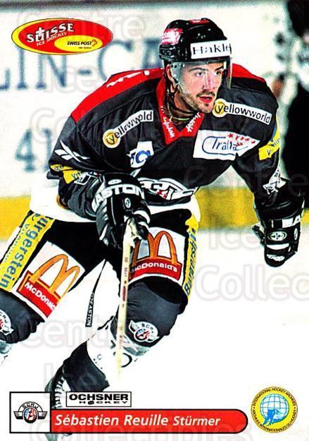 2001-02 Swiss Ice Hockey Cards #170 Sebastien Reuille<br/>2 In Stock - $2.00 each - <a href=https://centericecollectibles.foxycart.com/cart?name=2001-02%20Swiss%20Ice%20Hockey%20Cards%20%23170%20Sebastien%20Reuil...&quantity_max=2&price=$2.00&code=220715 class=foxycart> Buy it now! </a>