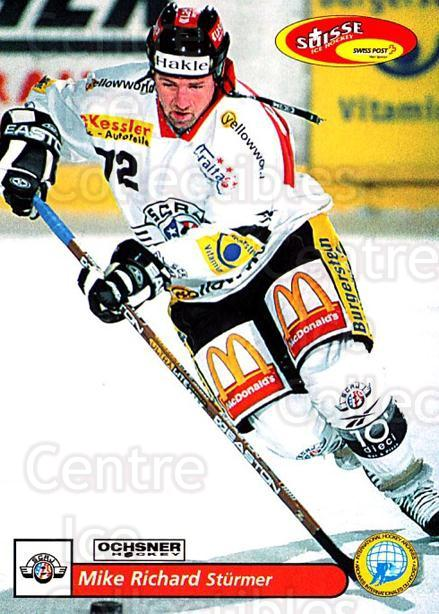 2001-02 Swiss Ice Hockey Cards #171 Mike Richard<br/>2 In Stock - $2.00 each - <a href=https://centericecollectibles.foxycart.com/cart?name=2001-02%20Swiss%20Ice%20Hockey%20Cards%20%23171%20Mike%20Richard...&quantity_max=2&price=$2.00&code=220716 class=foxycart> Buy it now! </a>