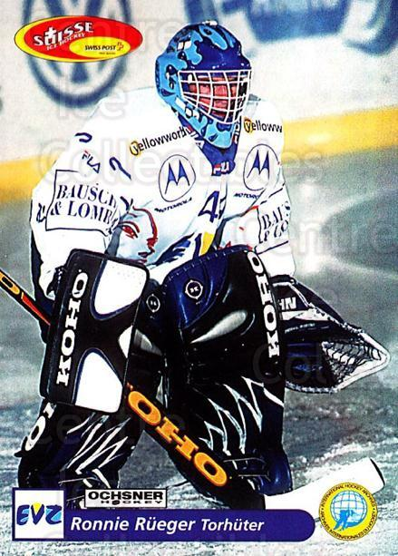 2001-02 Swiss Ice Hockey Cards #175 Ronnie Rueger<br/>1 In Stock - $2.00 each - <a href=https://centericecollectibles.foxycart.com/cart?name=2001-02%20Swiss%20Ice%20Hockey%20Cards%20%23175%20Ronnie%20Rueger...&quantity_max=1&price=$2.00&code=220720 class=foxycart> Buy it now! </a>