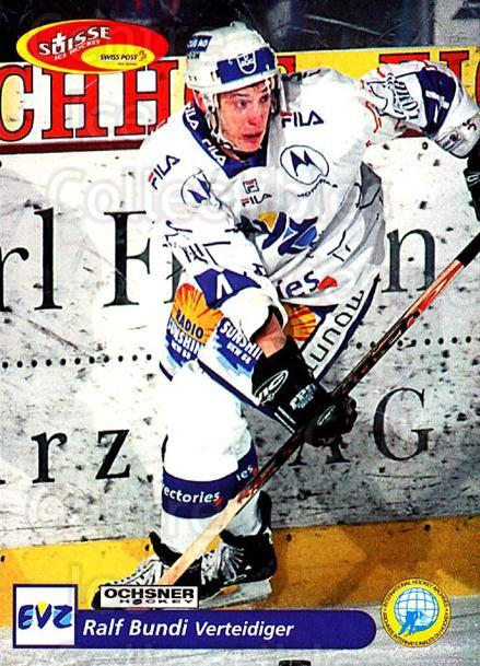 2001-02 Swiss Ice Hockey Cards #177 Ralph Bundi<br/>2 In Stock - $2.00 each - <a href=https://centericecollectibles.foxycart.com/cart?name=2001-02%20Swiss%20Ice%20Hockey%20Cards%20%23177%20Ralph%20Bundi...&quantity_max=2&price=$2.00&code=220722 class=foxycart> Buy it now! </a>