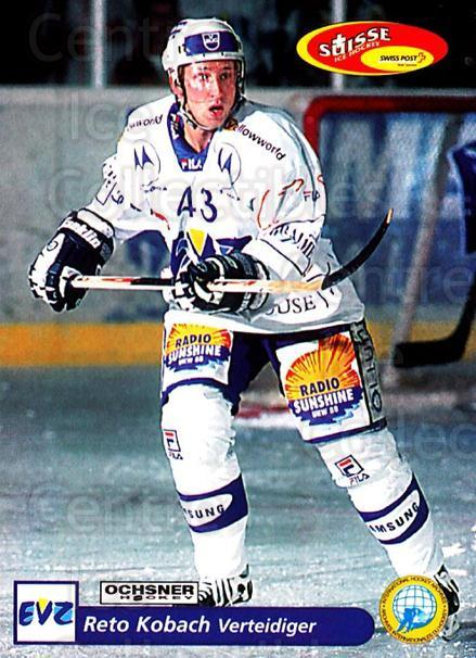 2001-02 Swiss Ice Hockey Cards #179 Reto Kobach<br/>3 In Stock - $2.00 each - <a href=https://centericecollectibles.foxycart.com/cart?name=2001-02%20Swiss%20Ice%20Hockey%20Cards%20%23179%20Reto%20Kobach...&quantity_max=3&price=$2.00&code=220724 class=foxycart> Buy it now! </a>