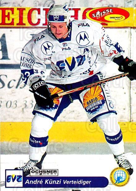 2001-02 Swiss Ice Hockey Cards #180 Andre Kunzi<br/>3 In Stock - $2.00 each - <a href=https://centericecollectibles.foxycart.com/cart?name=2001-02%20Swiss%20Ice%20Hockey%20Cards%20%23180%20Andre%20Kunzi...&quantity_max=3&price=$2.00&code=220725 class=foxycart> Buy it now! </a>