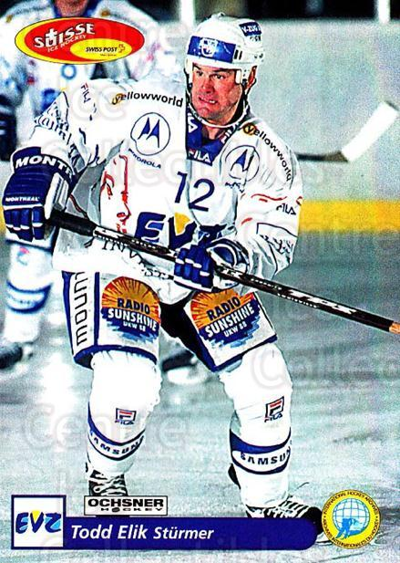 2001-02 Swiss Ice Hockey Cards #188 Todd Elik<br/>1 In Stock - $2.00 each - <a href=https://centericecollectibles.foxycart.com/cart?name=2001-02%20Swiss%20Ice%20Hockey%20Cards%20%23188%20Todd%20Elik...&quantity_max=1&price=$2.00&code=220733 class=foxycart> Buy it now! </a>