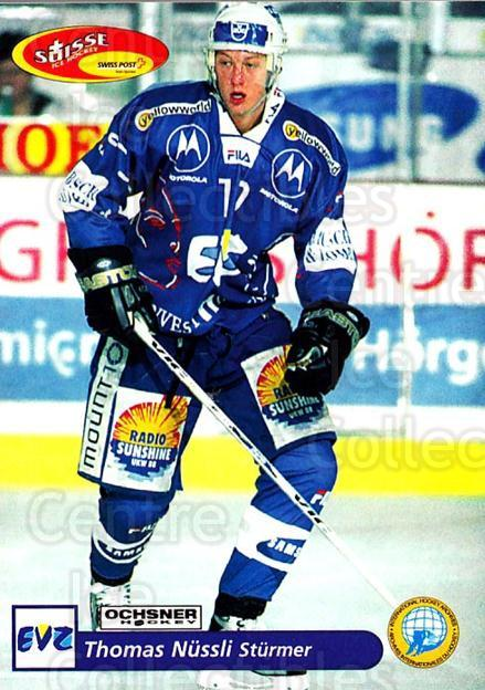 2001-02 Swiss Ice Hockey Cards #192 Thomas Nussli<br/>2 In Stock - $2.00 each - <a href=https://centericecollectibles.foxycart.com/cart?name=2001-02%20Swiss%20Ice%20Hockey%20Cards%20%23192%20Thomas%20Nussli...&quantity_max=2&price=$2.00&code=220737 class=foxycart> Buy it now! </a>