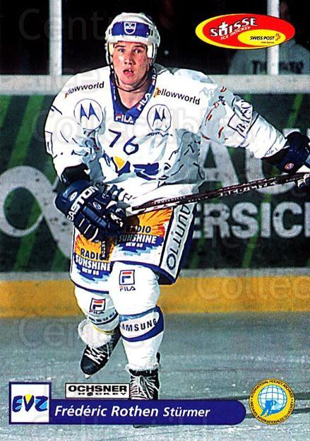 2001-02 Swiss Ice Hockey Cards #194 Frederic Rothen<br/>2 In Stock - $2.00 each - <a href=https://centericecollectibles.foxycart.com/cart?name=2001-02%20Swiss%20Ice%20Hockey%20Cards%20%23194%20Frederic%20Rothen...&quantity_max=2&price=$2.00&code=220739 class=foxycart> Buy it now! </a>