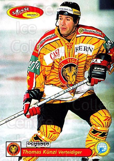 2001-02 Swiss Ice Hockey Cards #206 Thomas Kunzi<br/>2 In Stock - $2.00 each - <a href=https://centericecollectibles.foxycart.com/cart?name=2001-02%20Swiss%20Ice%20Hockey%20Cards%20%23206%20Thomas%20Kunzi...&quantity_max=2&price=$2.00&code=220751 class=foxycart> Buy it now! </a>
