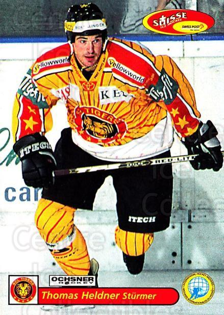 2001-02 Swiss Ice Hockey Cards #213 Thomas Heldner<br/>4 In Stock - $2.00 each - <a href=https://centericecollectibles.foxycart.com/cart?name=2001-02%20Swiss%20Ice%20Hockey%20Cards%20%23213%20Thomas%20Heldner...&quantity_max=4&price=$2.00&code=220758 class=foxycart> Buy it now! </a>