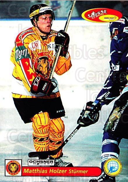 2001-02 Swiss Ice Hockey Cards #214 Matthias Holzer<br/>2 In Stock - $2.00 each - <a href=https://centericecollectibles.foxycart.com/cart?name=2001-02%20Swiss%20Ice%20Hockey%20Cards%20%23214%20Matthias%20Holzer...&quantity_max=2&price=$2.00&code=220759 class=foxycart> Buy it now! </a>