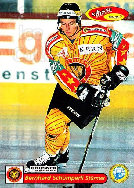 2001-02 Swiss Ice Hockey Cards #217 Bernhard Schumperli<br/>2 In Stock - $2.00 each - <a href=https://centericecollectibles.foxycart.com/cart?name=2001-02%20Swiss%20Ice%20Hockey%20Cards%20%23217%20Bernhard%20Schump...&quantity_max=2&price=$2.00&code=220762 class=foxycart> Buy it now! </a>