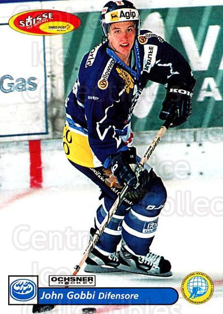 2001-02 Swiss Ice Hockey Cards #227 John Gobbi<br/>2 In Stock - $2.00 each - <a href=https://centericecollectibles.foxycart.com/cart?name=2001-02%20Swiss%20Ice%20Hockey%20Cards%20%23227%20John%20Gobbi...&quantity_max=2&price=$2.00&code=220772 class=foxycart> Buy it now! </a>