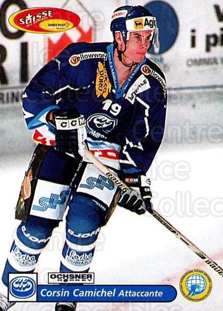 2001-02 Swiss Ice Hockey Cards #231 Corsin Camichel<br/>3 In Stock - $2.00 each - <a href=https://centericecollectibles.foxycart.com/cart?name=2001-02%20Swiss%20Ice%20Hockey%20Cards%20%23231%20Corsin%20Camichel...&quantity_max=3&price=$2.00&code=220776 class=foxycart> Buy it now! </a>