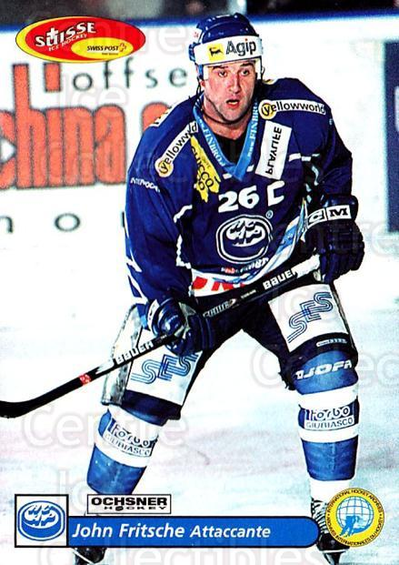 2001-02 Swiss Ice Hockey Cards #235 John Fritsche<br/>2 In Stock - $2.00 each - <a href=https://centericecollectibles.foxycart.com/cart?name=2001-02%20Swiss%20Ice%20Hockey%20Cards%20%23235%20John%20Fritsche...&quantity_max=2&price=$2.00&code=220780 class=foxycart> Buy it now! </a>