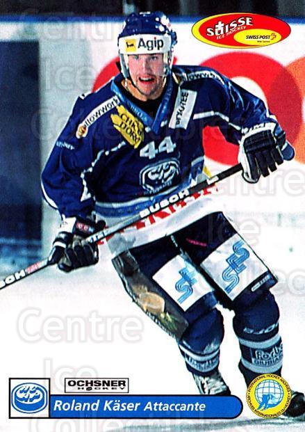 2001-02 Swiss Ice Hockey Cards #237 Roland Kaser<br/>2 In Stock - $2.00 each - <a href=https://centericecollectibles.foxycart.com/cart?name=2001-02%20Swiss%20Ice%20Hockey%20Cards%20%23237%20Roland%20Kaser...&quantity_max=2&price=$2.00&code=220782 class=foxycart> Buy it now! </a>