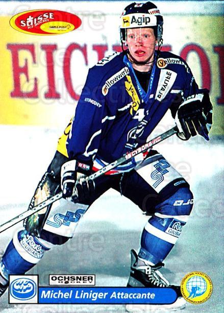 2001-02 Swiss Ice Hockey Cards #239 Michael Liniger<br/>3 In Stock - $2.00 each - <a href=https://centericecollectibles.foxycart.com/cart?name=2001-02%20Swiss%20Ice%20Hockey%20Cards%20%23239%20Michael%20Liniger...&quantity_max=3&price=$2.00&code=220784 class=foxycart> Buy it now! </a>