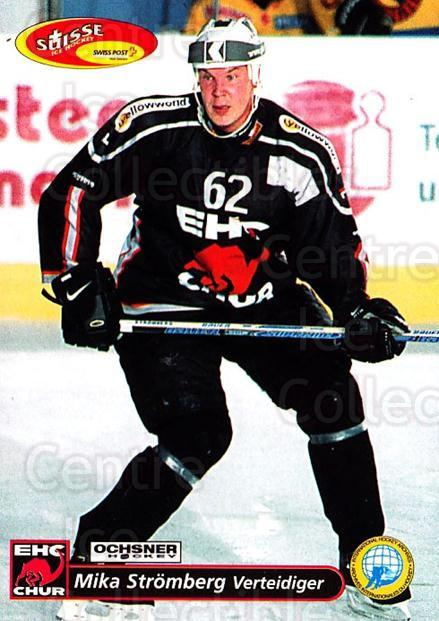 2001-02 Swiss Ice Hockey Cards #252 Mika Stromberg<br/>2 In Stock - $2.00 each - <a href=https://centericecollectibles.foxycart.com/cart?name=2001-02%20Swiss%20Ice%20Hockey%20Cards%20%23252%20Mika%20Stromberg...&quantity_max=2&price=$2.00&code=220797 class=foxycart> Buy it now! </a>