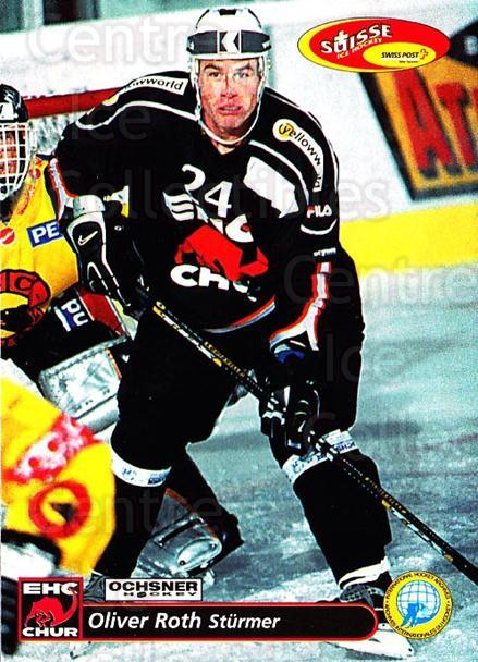 2001-02 Swiss Ice Hockey Cards #261 Oliver Roth<br/>2 In Stock - $2.00 each - <a href=https://centericecollectibles.foxycart.com/cart?name=2001-02%20Swiss%20Ice%20Hockey%20Cards%20%23261%20Oliver%20Roth...&quantity_max=2&price=$2.00&code=220806 class=foxycart> Buy it now! </a>