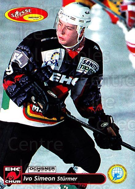 2001-02 Swiss Ice Hockey Cards #262 Ivo Simeon<br/>2 In Stock - $2.00 each - <a href=https://centericecollectibles.foxycart.com/cart?name=2001-02%20Swiss%20Ice%20Hockey%20Cards%20%23262%20Ivo%20Simeon...&quantity_max=2&price=$2.00&code=220807 class=foxycart> Buy it now! </a>