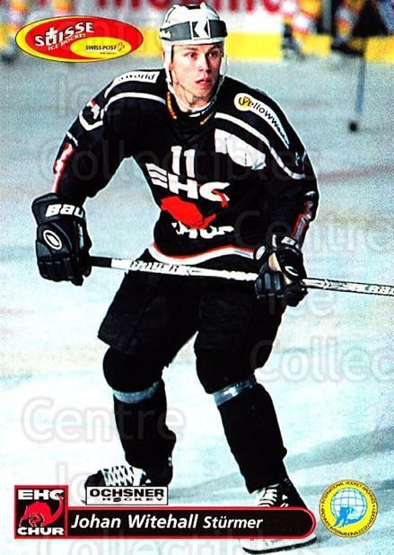 2001-02 Swiss Ice Hockey Cards #265 Johan Witehall<br/>1 In Stock - $2.00 each - <a href=https://centericecollectibles.foxycart.com/cart?name=2001-02%20Swiss%20Ice%20Hockey%20Cards%20%23265%20Johan%20Witehall...&quantity_max=1&price=$2.00&code=220810 class=foxycart> Buy it now! </a>