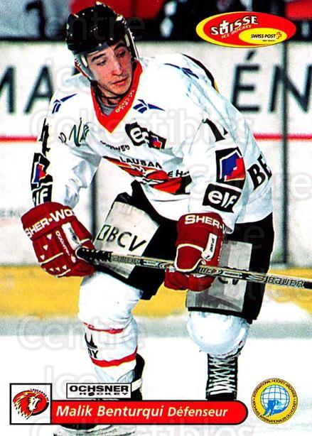 2001-02 Swiss Ice Hockey Cards #271 Malik Benturqui<br/>3 In Stock - $2.00 each - <a href=https://centericecollectibles.foxycart.com/cart?name=2001-02%20Swiss%20Ice%20Hockey%20Cards%20%23271%20Malik%20Benturqui...&quantity_max=3&price=$2.00&code=220816 class=foxycart> Buy it now! </a>