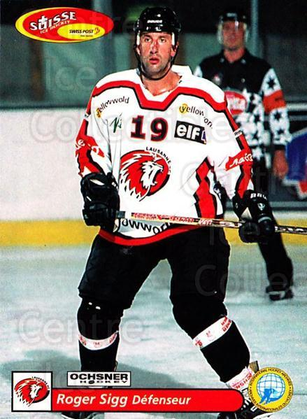 2001-02 Swiss Ice Hockey Cards #276 Roger Sigg<br/>2 In Stock - $2.00 each - <a href=https://centericecollectibles.foxycart.com/cart?name=2001-02%20Swiss%20Ice%20Hockey%20Cards%20%23276%20Roger%20Sigg...&quantity_max=2&price=$2.00&code=220821 class=foxycart> Buy it now! </a>